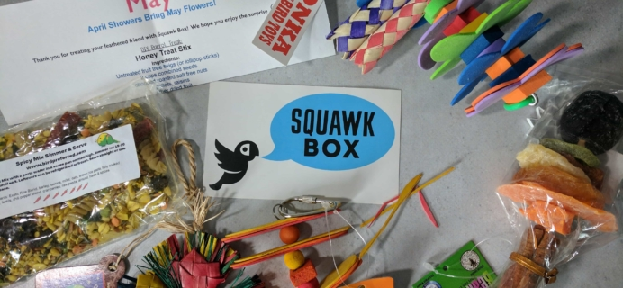 Squawk Box Subscription Box Review – May 2017