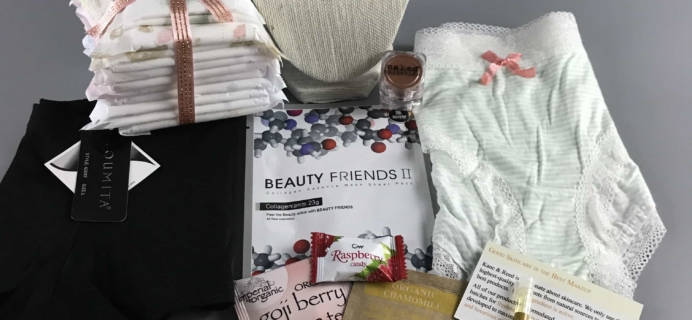 Rose War Panty Power May 2017 Subscription Box Review + Coupon