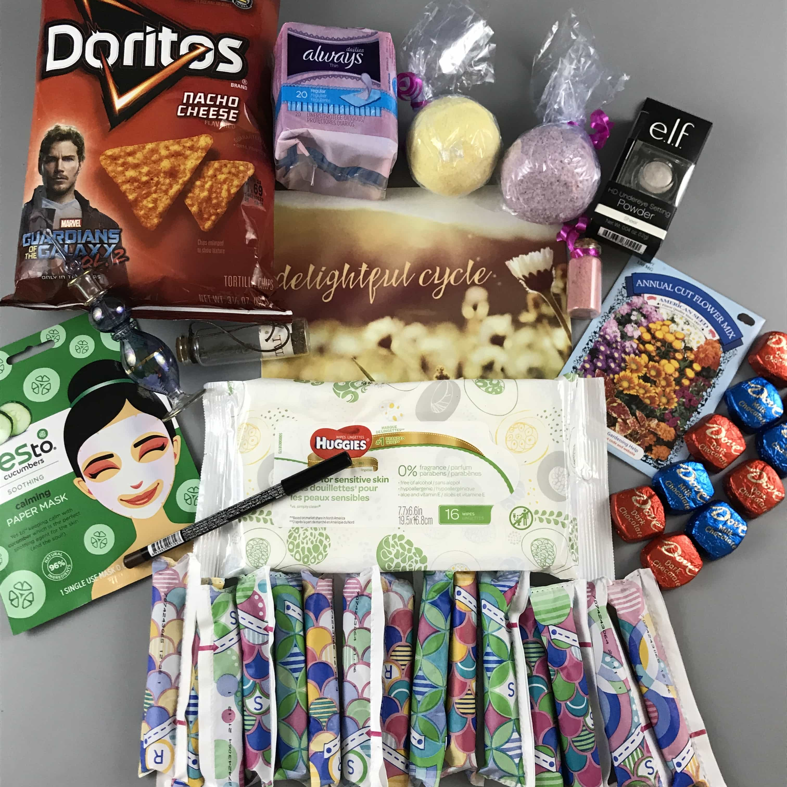 DelightfulCycle May 2017 Subscription Box Review + Coupon!