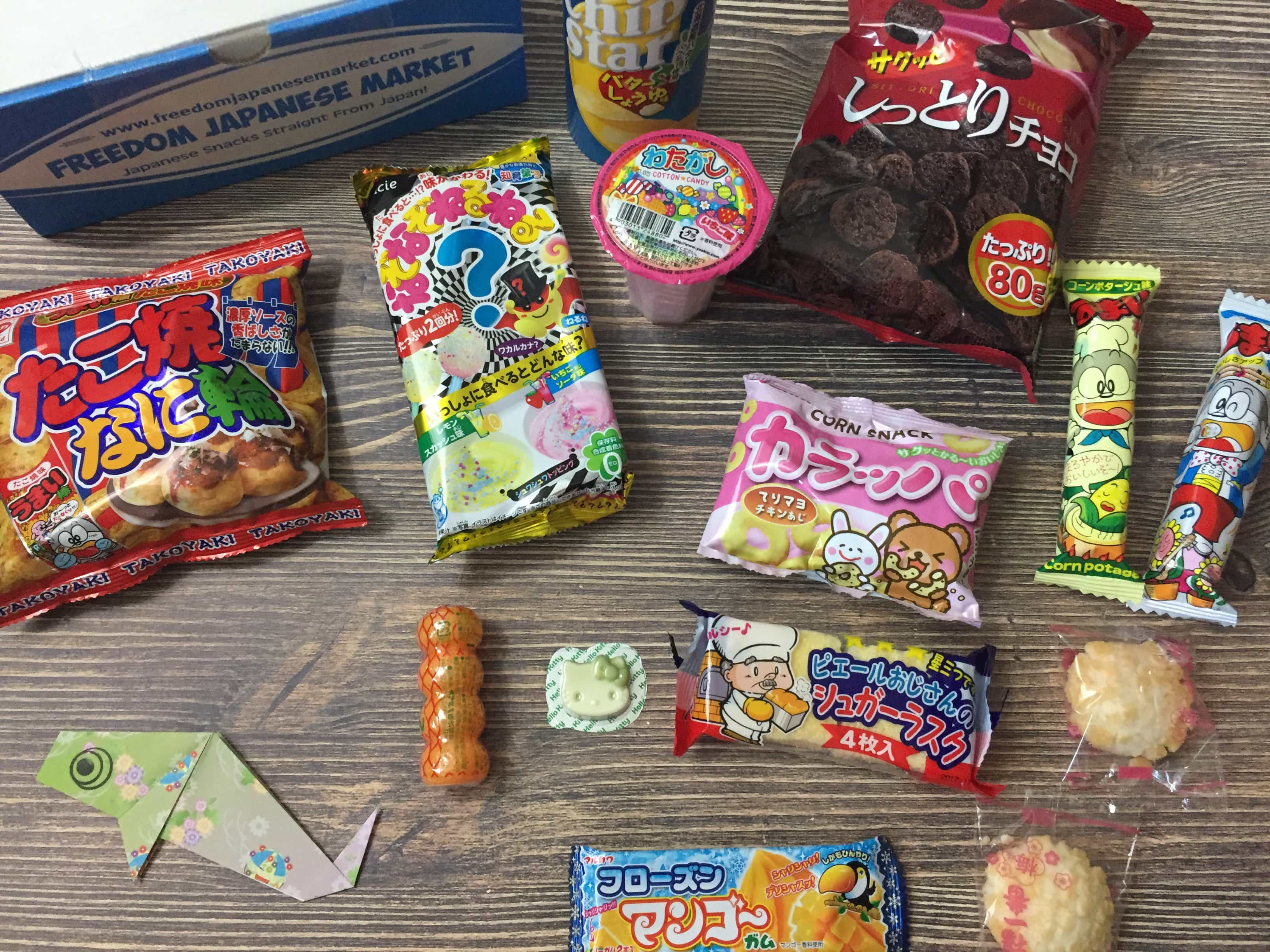 Freedom Japanese Market May 2017 Subscription Box Review