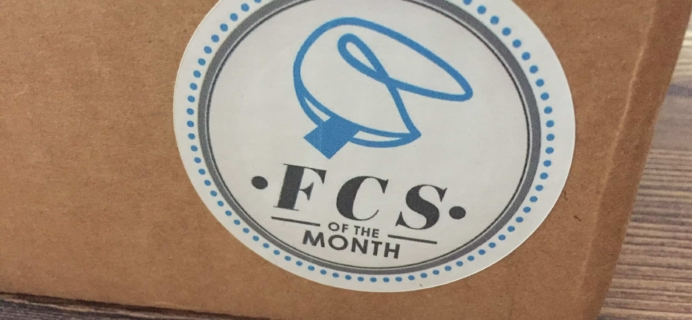 FCS of the Month May 2017 Subscription Box Review