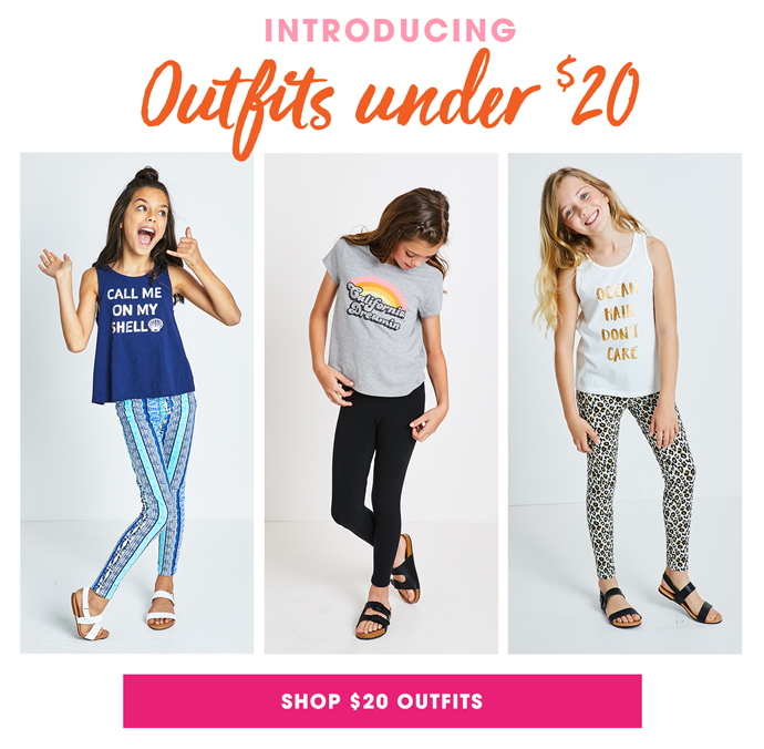 Introducing: Outfits Under $20
