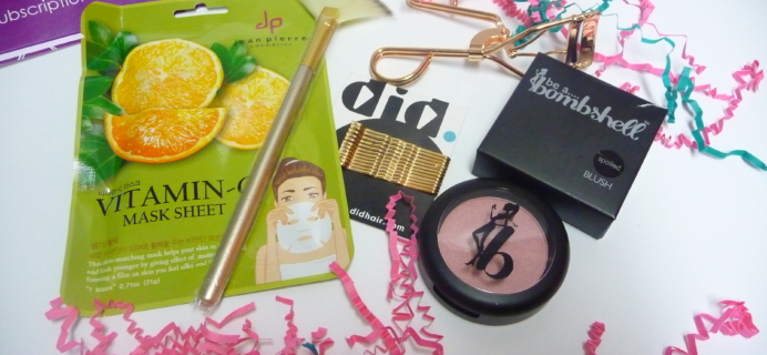 Beauty Box 5 April 2017 Subscription Box Review & Coupon