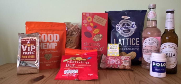 DegustaBox UK April 2017 Subscription Box Review + Coupon