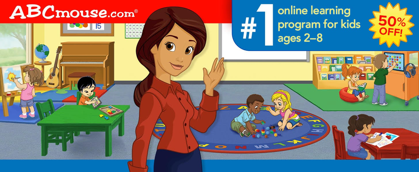 ABCmouse Semiannual Sale: Get 1 Year of ABCmouse for $45 – 50% Off!