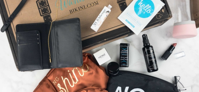 The Wanderlust by Bikini Summer 2017 Subscription Box Review & Coupon – The Hamptons!