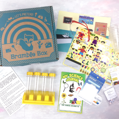 Bramble Box Subscription Box Review + Coupon – Science Lab!