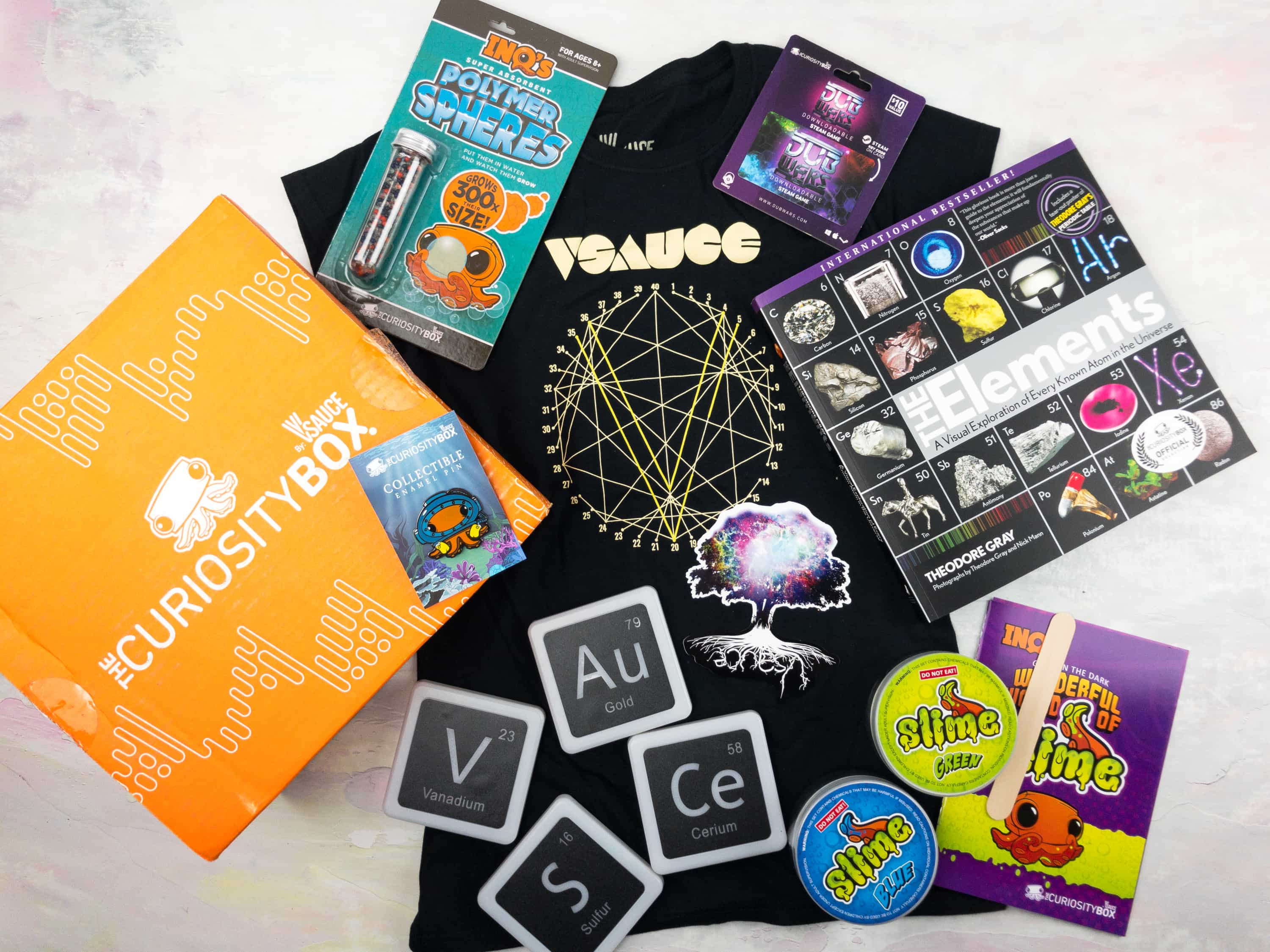 The Curiosity Box by VSauce Subscription Box Review – Spring 2017