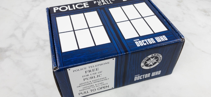 Doctor Who Block May 2017 Subscription Box Review
