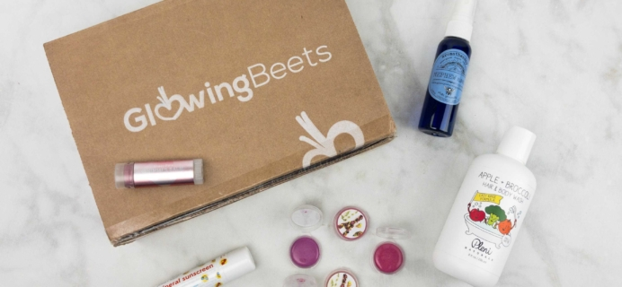 Glowing Beets May 2017 Subscription Box Review + Coupon