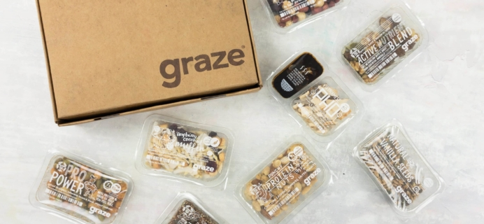 Graze Carb Count Box Review & Free Box Coupon – May 2017