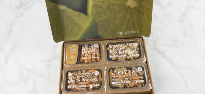 Graze Savory Box Review & Free Box Coupon – May 2017
