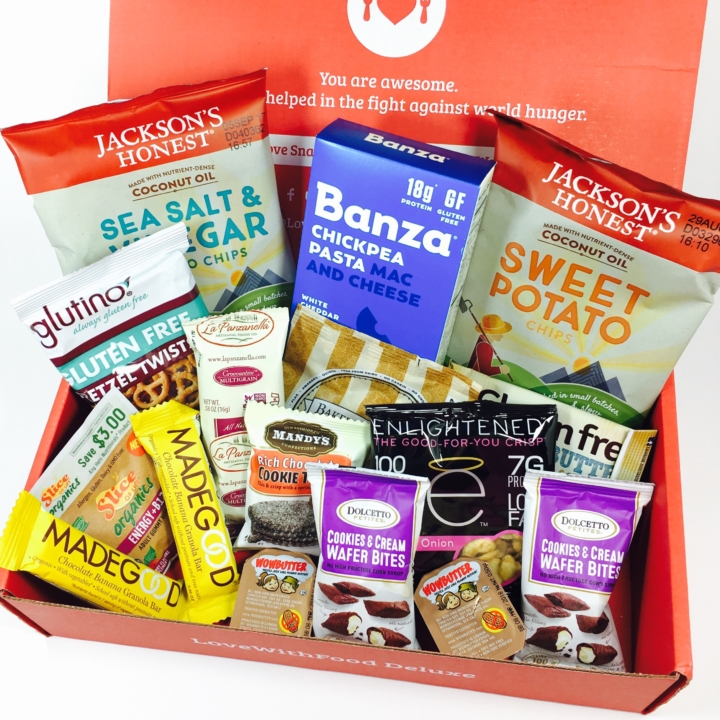 Love With Food May 2017 Deluxe Box Review + Coupon - hello
