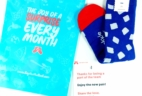 Say It With A Sock May 2017 Men's Sockscription Box Review & Coupon