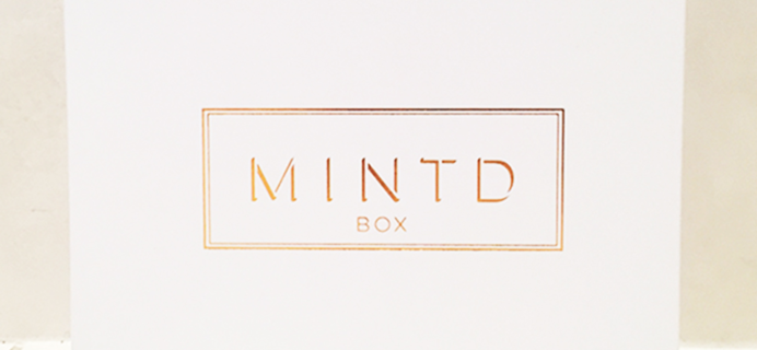 MINTD Box September 2018 Spoiler + Coupon!