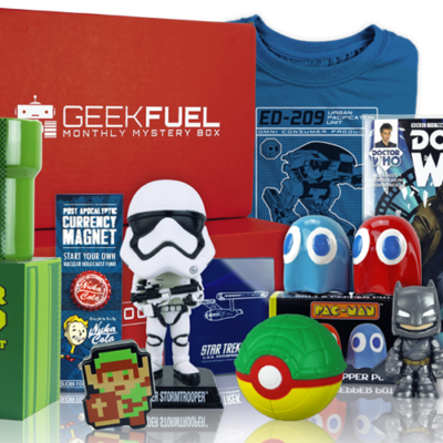 Geek Fuel March 2018 Spoilers + Coupon