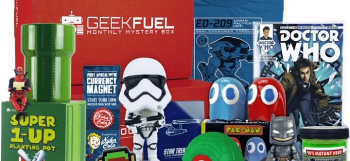 Geek Fuel April 2018 Full Spoilers + Coupon