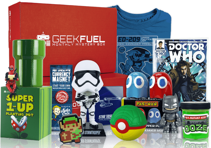 Geek Fuel April 2018 Spoilers + Coupon