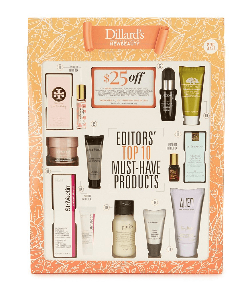 New Beauty + Dillard's Limited Edition Box Available Now!