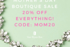 Your Bijoux Box Mother's Day Boutique Sale!
