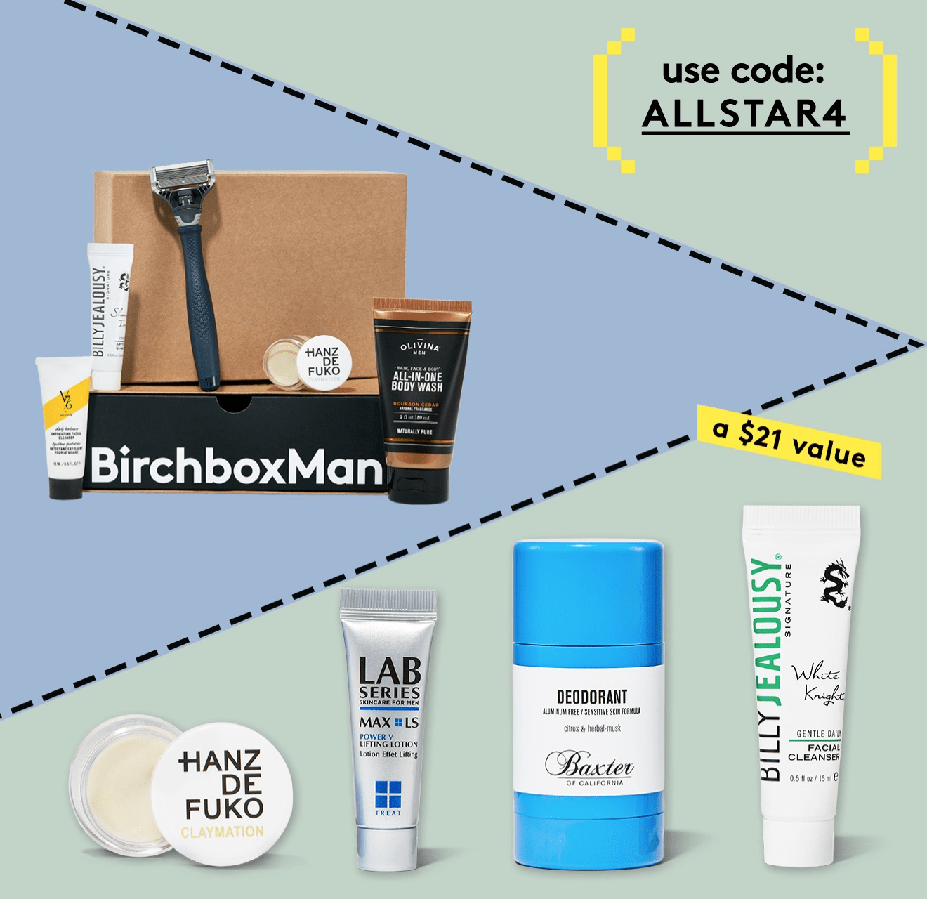 Birchbox Man Coupon: Free Allstar Kit with Subscription!