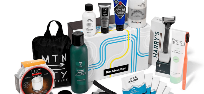 New Birchbox Man Limited Edition Box: The New Essentials + Coupons!