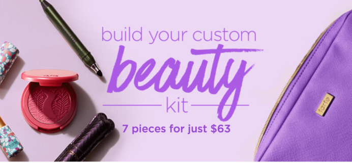 Tarte Create Your Own Beauty Kit: New Bags Added!
