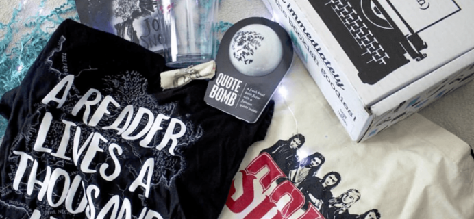 The Bookish Box: Game of Thrones Limited Edition Box Available at Noon ET!