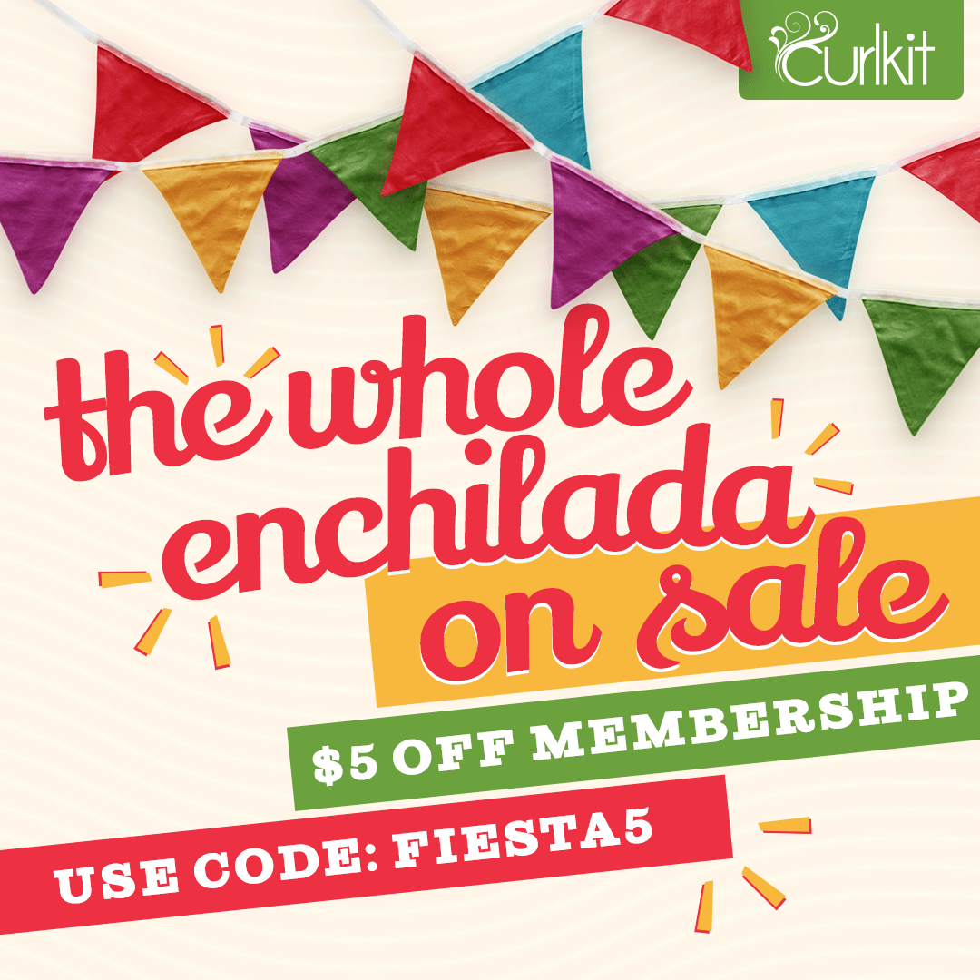 CurlKit Cinco de Mayo Coupon: $5 Off First Box!
