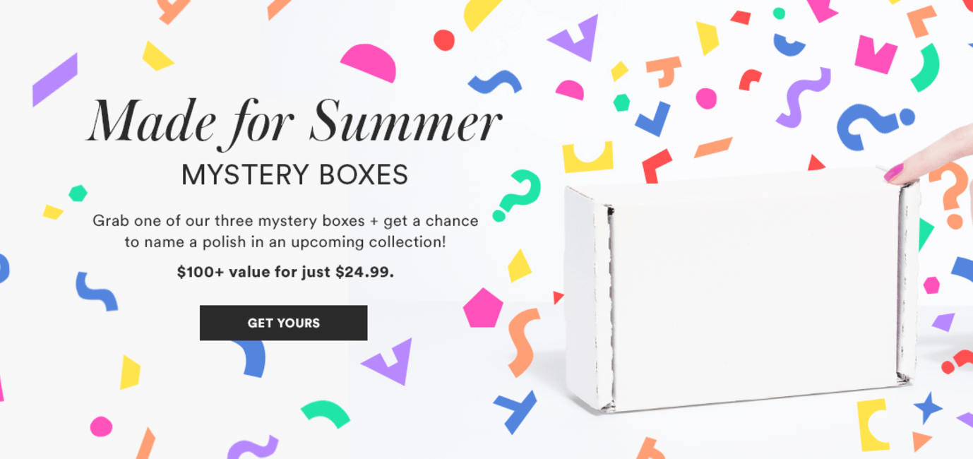 Julep Made For Summer Mystery Box Now Available + Coupon!