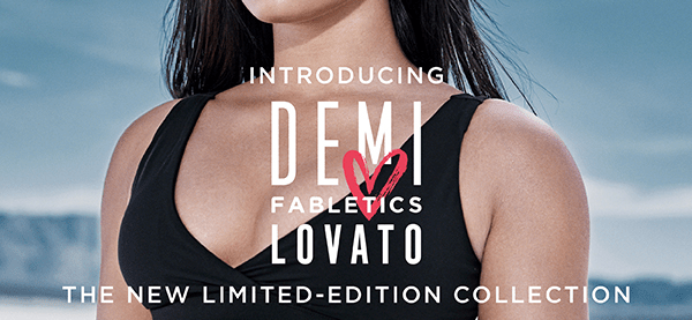 Fabletics x Demi Lovato Limited Edition Collection Coming Soon!