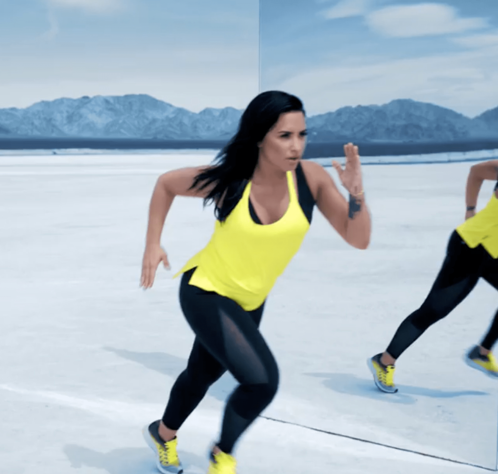 5f550df5e0d451 Fabletics x Demi Lovato Limited Edition Collection Coming Soon ...