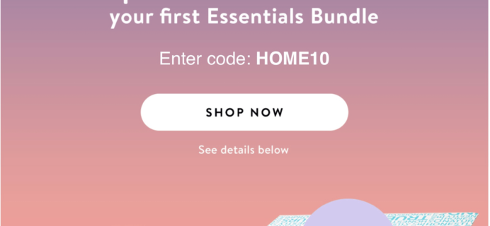 Honest Company Coupon: $10 off Essentials Bundles for New Members!