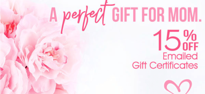 Fat Quarter Shop Mother's Day Deal: 15% Off Emailed Gift Certificates!