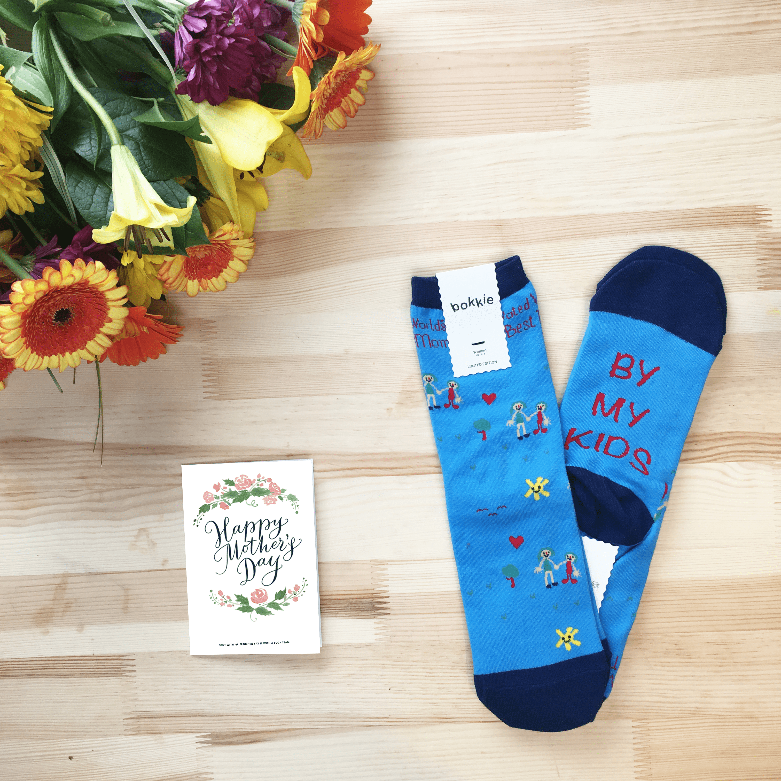 Say It With A Sock Mother's Day Deal: FREE Socks with First Month!