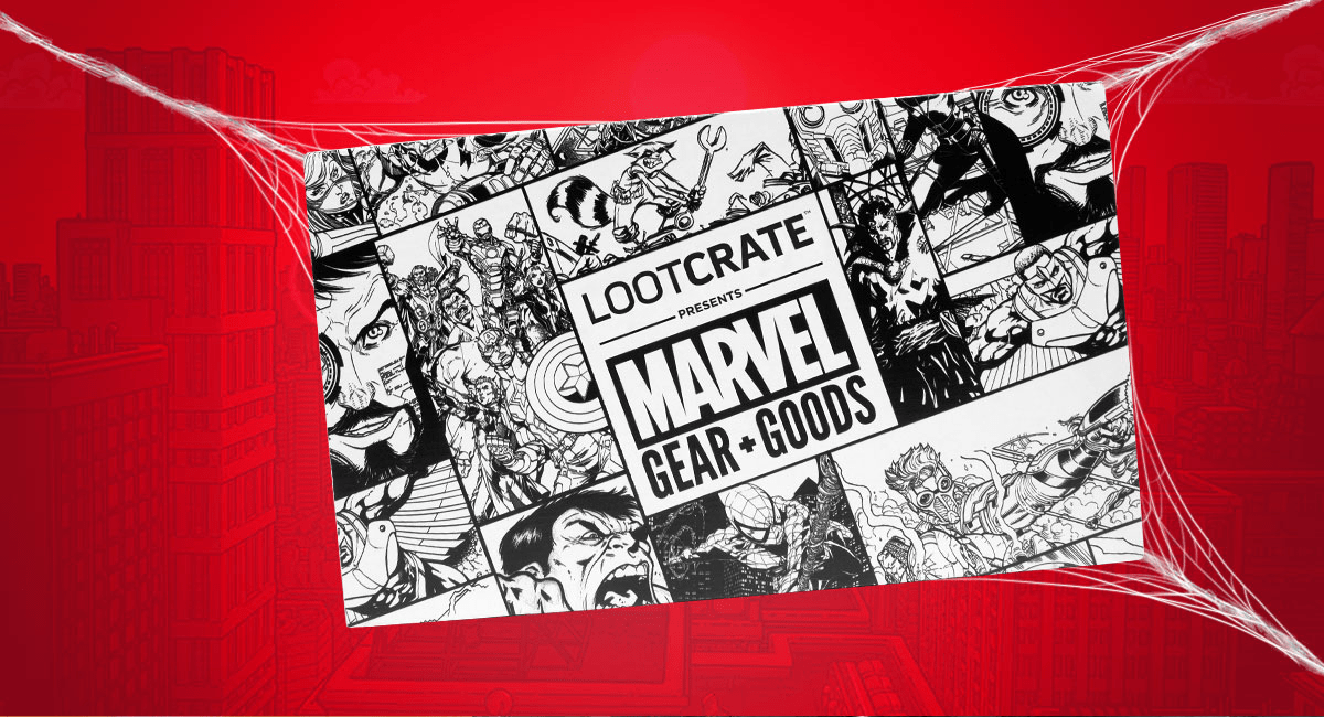 Loot Crate Marvel Gear + Goods July 2017 Full Spoilers