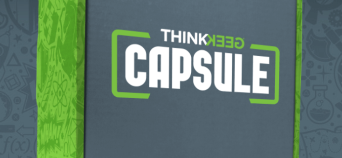 ThinkGeek Capsule August 2017 Full Spoilers!