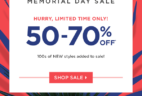 Fabletics Memorial Day Sale: Save Up To 50-70% Off!