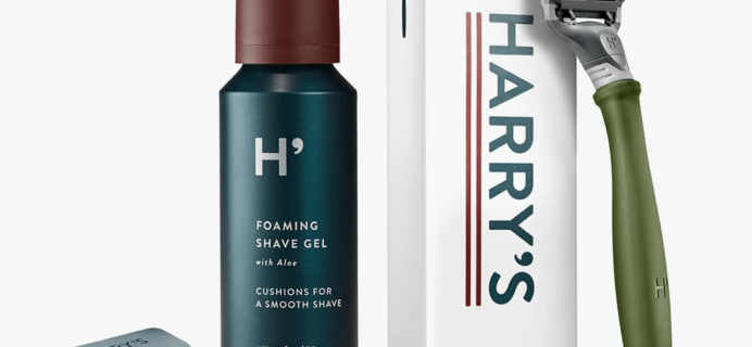 Harry's Razor Subscription Free Trial Deal: First Box $3 Shipped!