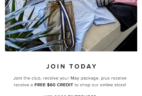 Five Four Club Deal: Subscribe & Get Free $60 Shop Credit!