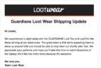 Loot Wear May 2017 Loot Tee + Loot for Her Shipping Delay
