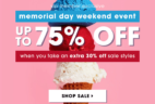FabKids Memorial Day Sale!