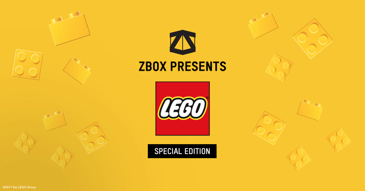 ZBOX Limited Edition Lego Box Available Now!