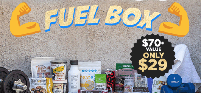 Vegan Cuts Spring Sale Day 2: Vegan Fitness Fuel Box!