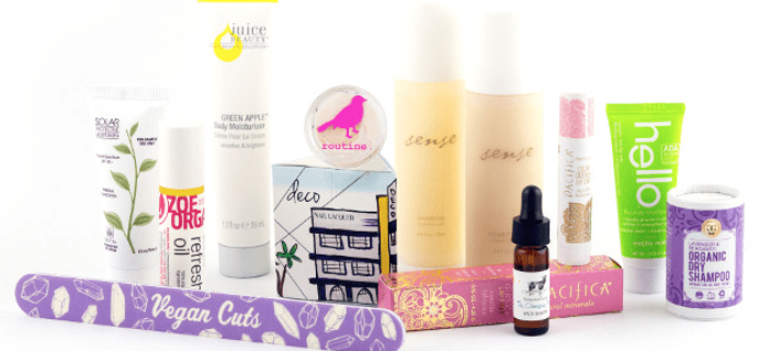 Vegan Cuts Spring Sale Day 3: Travel Essentials Box!