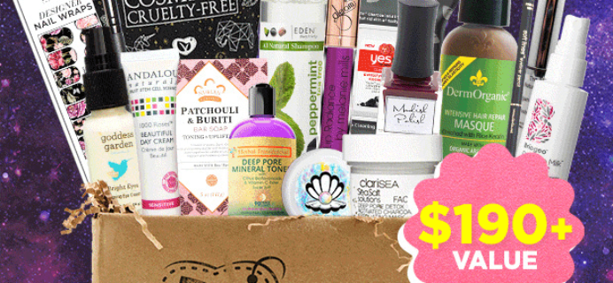 Vegan Cuts Spring Sale Day 5: Cosmic Beauty Haul Box