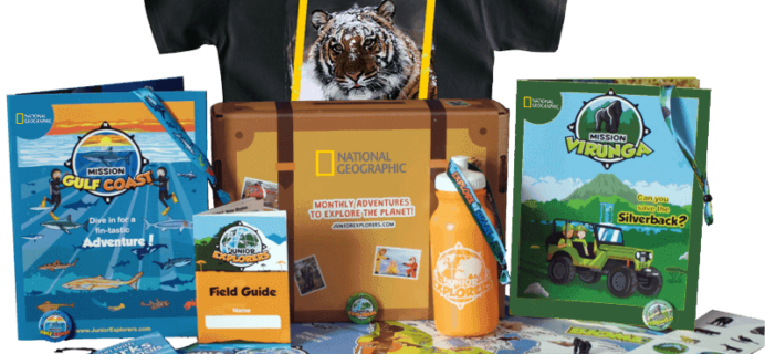 NatGeo PleyBox Cyber Monday Coupon Code – First Box $10! STILL AVAILABLE!