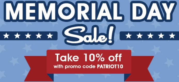 Fat Quarter Shop Memorial Day Deal: 10% Off!