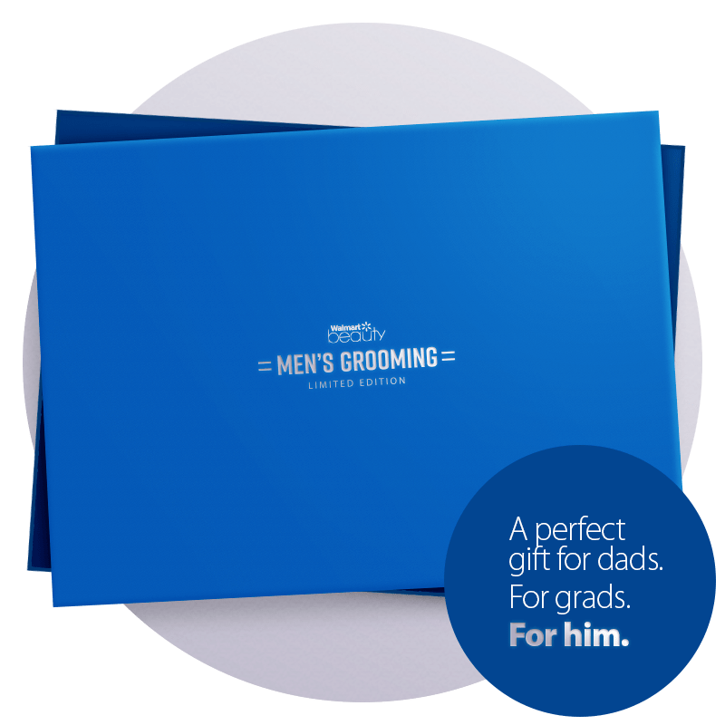 Walmart Men's Grooming Limited Edition Box Available Now!