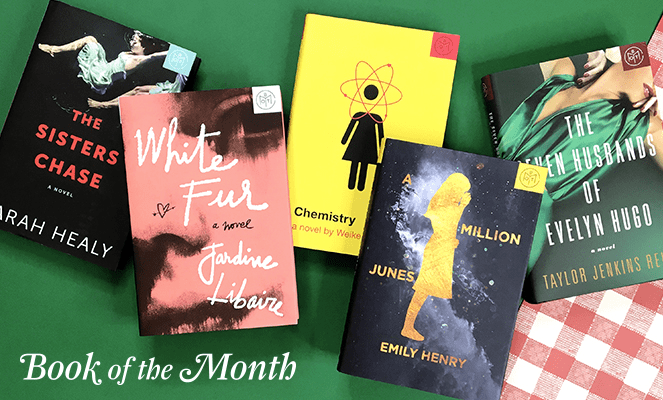June 2017 Book of the Month Selection Time + Coupon!